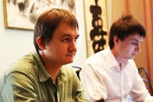 Евгений Дубровин и Михаил Емельянов