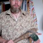Палеонтология: Кменный топор древнего жителя Сибири
